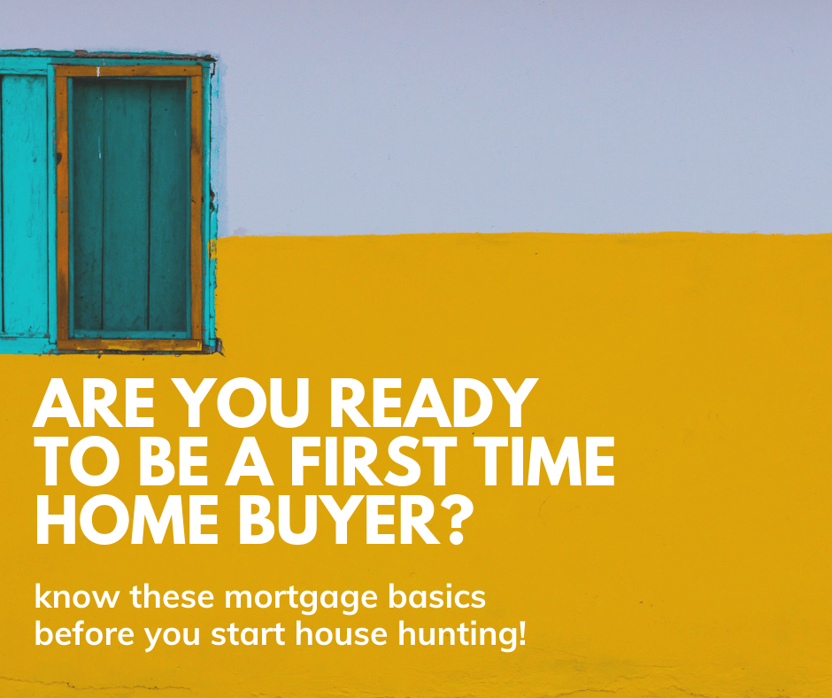 Know these first time home buyer mortgage terms before you start house hunting