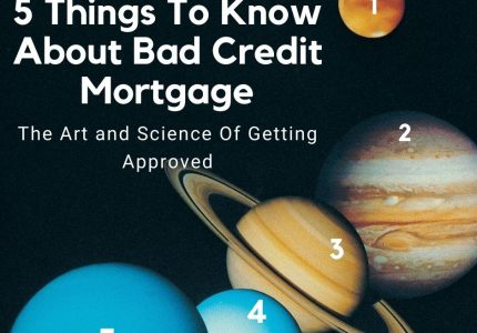 Read before you apply for a bad credit mortgage